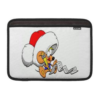 クリスマスのマウス MacBook スリーブ