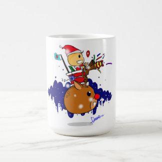クリスマスのマグ コーヒーマグカップ