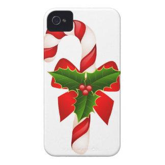 クリスマスのメリーな休日の木はお祝いを飾ります Case-Mate iPhone 4 ケース