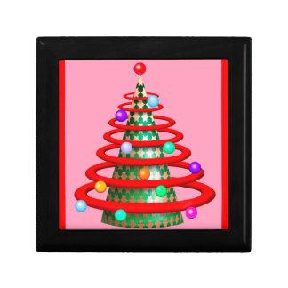 クリスマスのモダンな木のギフト用の箱 ギフトボックス