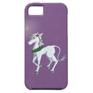 クリスマスのユニコーン iPhone SE/5/5s ケース