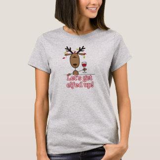クリスマスのユーモアのTシャツ Tシャツ