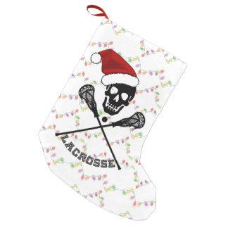クリスマスのラクロスの棒 スモールクリスマスストッキング