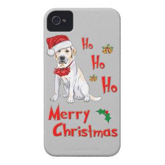 クリスマスのラブラドール Case-Mate iPhone 4 ケース