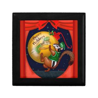 クリスマスのリスのギフト用の箱3 ギフトボックス