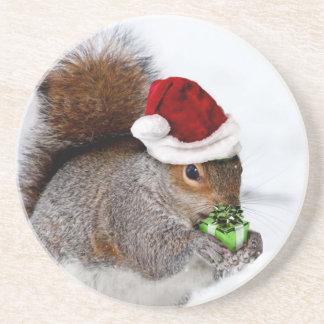 クリスマスのリス コースター