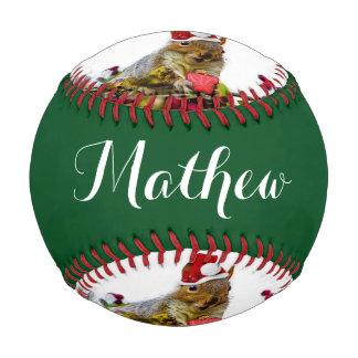 クリスマスのリス ベースボール