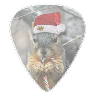 クリスマスのリス ホワイトデルリン ギターピック