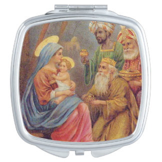 クリスマスのヴィンテージの出生のイエス・キリストの絵