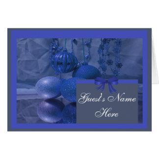 クリスマスの休日のパーティ カード