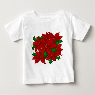 クリスマスの休日のワイシャツ ベビーTシャツ