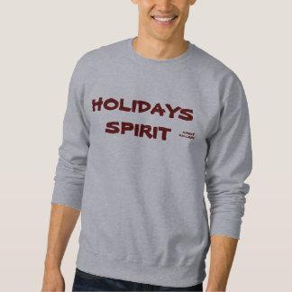 クリスマスの休日の精神の汗 スウェットシャツ