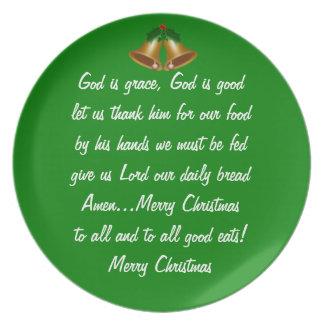 クリスマスの優美 プレート