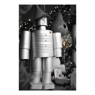 クリスマスの写真のプリントの錫の人 フォトプリント