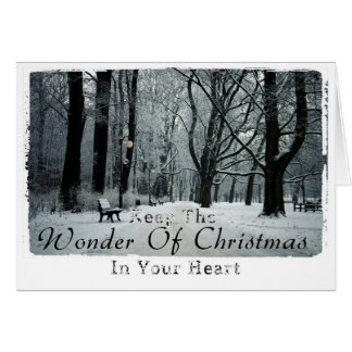 クリスマスの写真撮影 カード