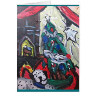 クリスマスの写真 グリーティングカード