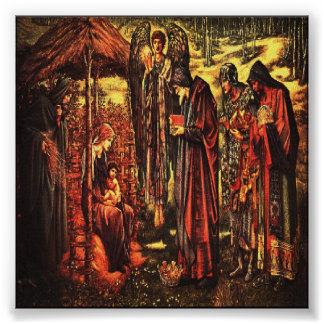 クリスマスの出生のプリント ポスター