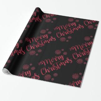 クリスマスの包装紙 ラッピングペーパー