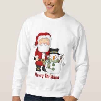 クリスマスの友達の休日のスエットシャツ スウェットシャツ