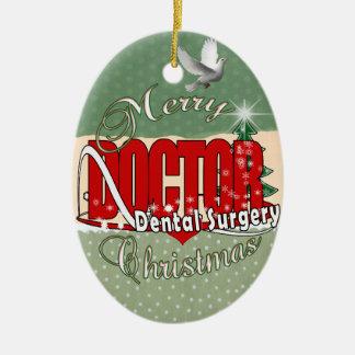 クリスマスの口腔外科 セラミックオーナメント