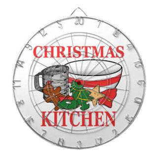 クリスマスの台所 ダーツボード
