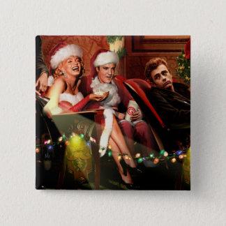 クリスマスの合間 缶バッジ