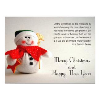 クリスマスの名刺 カード