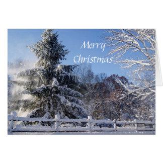 クリスマスの喜び カード