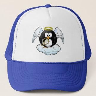 クリスマスの天使のペンギン キャップ