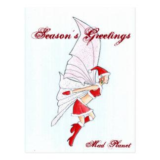 クリスマスの妖精 ポストカード