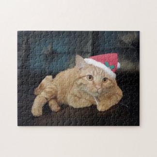 クリスマスの子猫のパズル ジグソーパズル