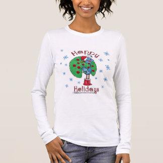 クリスマスの孔雀 Tシャツ