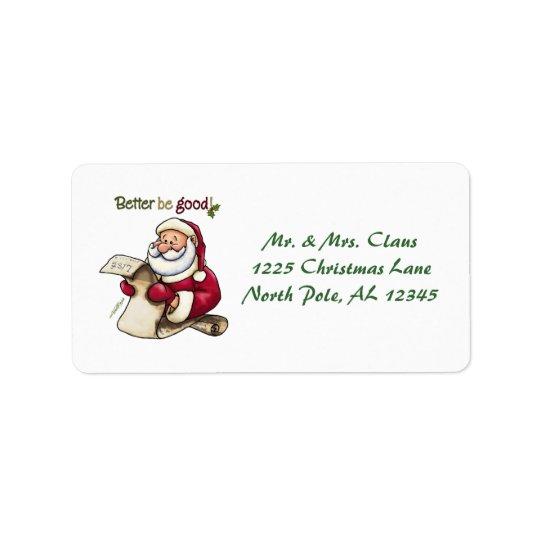 クリスマスの宛名ラベル ラベル