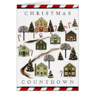 クリスマスの家 カード