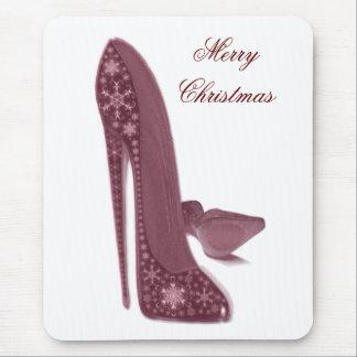 クリスマスの小剣のハイヒールは芸術に蹄鉄を打ちます マウスパッド