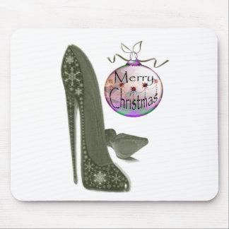 クリスマスの小剣の靴およびつまらないものの芸術のギフト マウスパッド