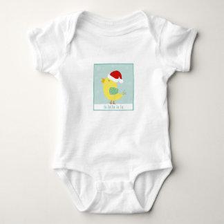 クリスマスの小鳥の乳児の衣類 ベビーボディスーツ