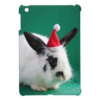クリスマスの帽子のウサギ iPad MINI カバー