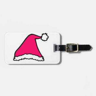 クリスマスの帽子 ラゲッジタグ