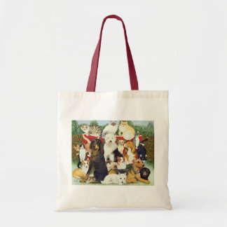 クリスマスの平和 トートバッグ