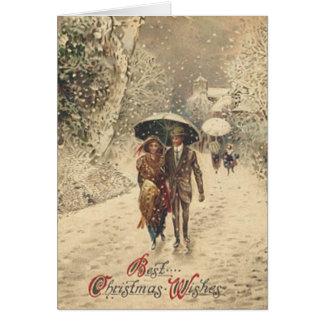 クリスマスの幸運を祈ります-カード カード