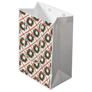 クリスマスの応援のギフトバッグ ミディアムペーパーバッグ