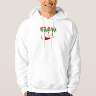 クリスマスの応援のスエットシャツ パーカ