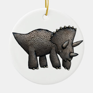クリスマスの恐竜の装飾 セラミックオーナメント