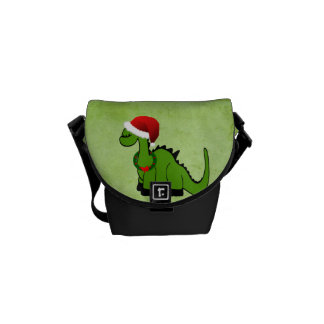 クリスマスの恐竜 クーリエバッグ