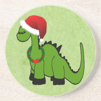クリスマスの恐竜 コースター