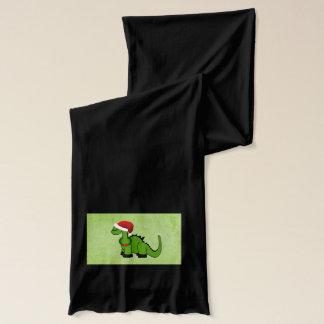 クリスマスの恐竜 スカーフ