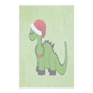 クリスマスの恐竜 便箋