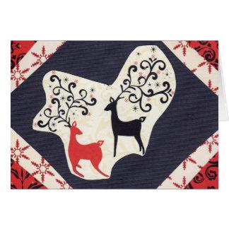 クリスマスの感じ カード
