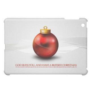 クリスマスの感じ iPad MINIケース
